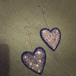 Jewelry - Big Heart earrings